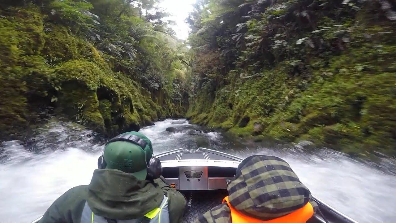EPIC Canyon Mini Jet Boating - New Zealand