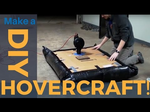 Bored and Broke? Build a Hovercraft!
