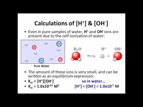 12.3 - Calculations of Hydrogen Ion Concentration and Calculations of pH