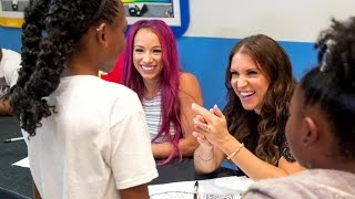 WWE Superstars visit St. Jude