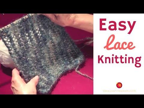 Knitting Lace Stitch
