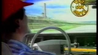 NELSON PIQUET TESTA O CARRO DO COLLOR LINCOLN TOWN CAR