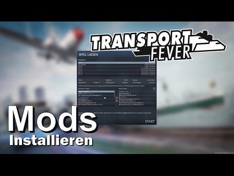 TRANSPORT FEVER - Mods installieren [Tutorial][German][Deutsch]