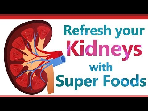 Refresh your Kidneys with Super Foods - Foods For Kidney Healthy and Clean - Kidney Friendly Foods