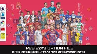 pes 2019 option file Videos - 9tube tv