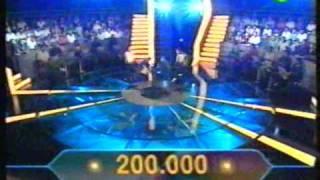 Greek TV Show Millionaire Winner (part 1/2)