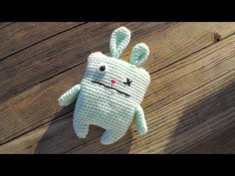 Ugly bunny amigurumi crochet pattern [advanced] Schachenmayr Baby Super Soft