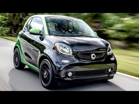 2017 Smart fortwo Electric Drive Review--Smart Electric
