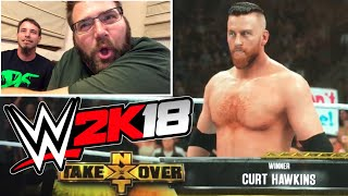 WWE 2K18 FOR FREE! REACTIONS TO 1st TIME PLAYING IT! NOT CLICKBAIT!