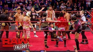 Braun Strowman and the Cruiserweights lay waste to Enzo Amore: Raw Fallout, Sept. 25, 2017
