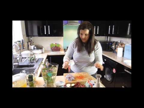 Juggle Mum's Red Onion & Courgette 'No Pastry' Quiche- Egg Recipes