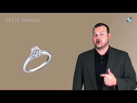Diamond Engagement Ring Designs - Ring Shank