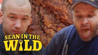 Download Sean Evans Eats L.A.'s Spiciest Fried Chicken with Brian Redban | Sean in the Wild Video