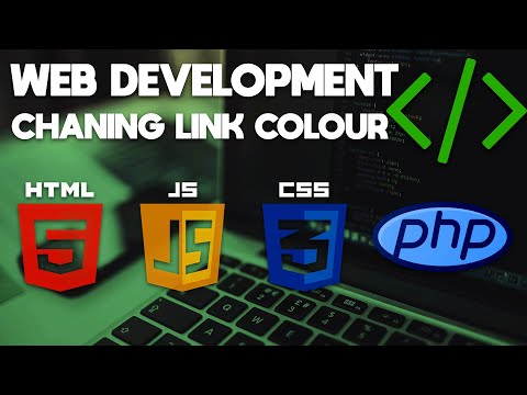 Web Development Tutorial | Changing HTML Link Colour