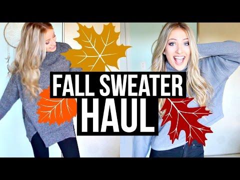 FALL SWEATER HAUL | Shawna Paterson