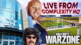 TIMTHETATMAN FIRST WARZONE STREAM AT THE COMPLEXITY HQ (FT. DR DISRESPECT)