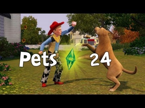 Let's Play The Sims 3: Pets - Part 24 - (PS3/Xbox 360 Console)