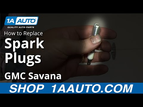 How To change Install Spark Plugs 2000-2013 GMC Savana Chevy Express 5.3L 6.0L