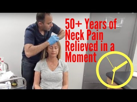 50+ Years of Neck Pain Relieved Before Your Eyes!