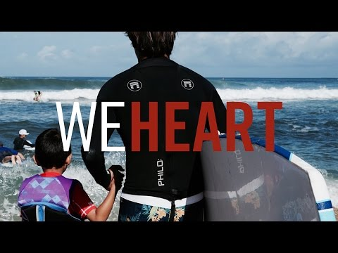 We Heart // Ocean Therapy for Kids with Cystic Fibrosis