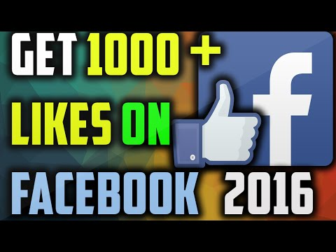 How To Get Likes On Facebook Photo 2016- Get 1000 Likes
