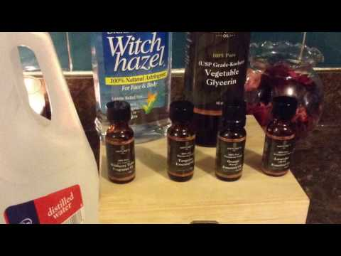 How To Make Perfume Without Alcohol