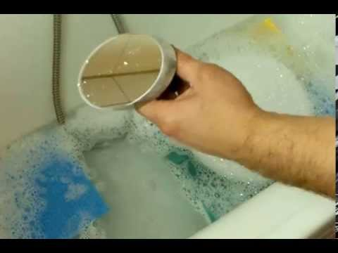 How to clean the optical mirrors on a Newtonian Reflector  Youtube