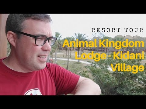 Tour of Animal Kingdom Lodge - Kidani Village