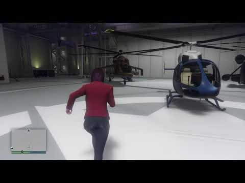GTA V Online Smuggler's Run Hangar Lighting and Flooring Designs