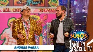 Andrés Parra se vestía de mujer - Andrés Parra en The Suso's Show - Aniversario Caracol TV