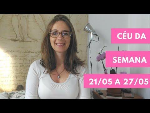 Céu da Semana - 21/05 a 27/05