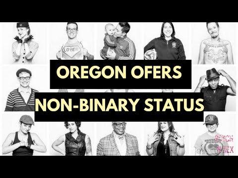 Oregon Offers a Non-Binary Gender Identity