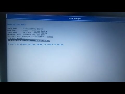 how to enter boot menu in lenovo laptop  (IDEAPAD 320)