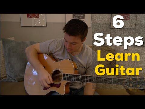 6 Steps to Learn Guitar - (Matt McCoy)