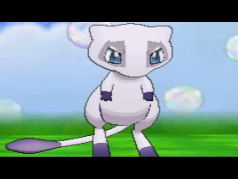 Mewtwo-colored Mew - Pokemon Omega Ruby / Alpha Sapphire (Hack)