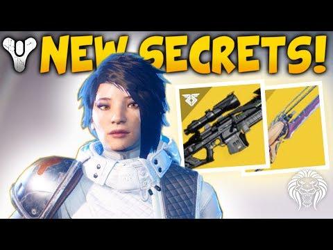 Destiny 2: BLACK SPINDLE & SECRET EXOTICS! All 45 Data Fragment Locations & Hidden Quests