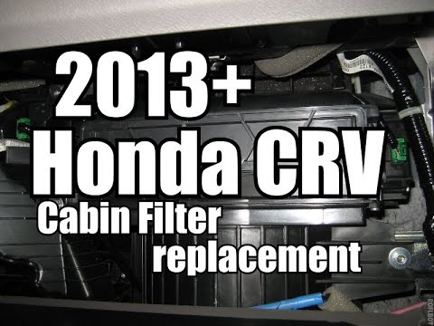 2013 Honda CRV Cabin Filter Replacement
