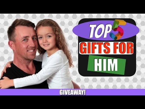 5 AWESOME Fathers Day Gift Ideas 2018 | OPEN GIVEAWAY included