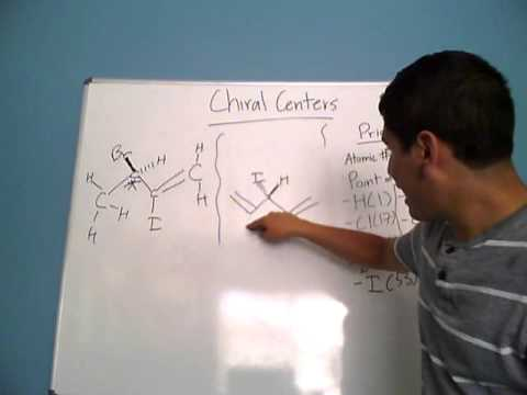 Chiral Centers and Priority Rules