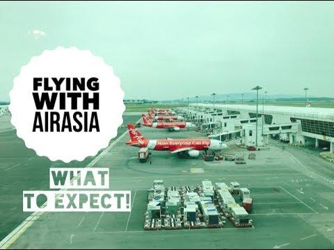 Flying with AirAsia   Seoul to Kuala Lumpur AirAsia Flight