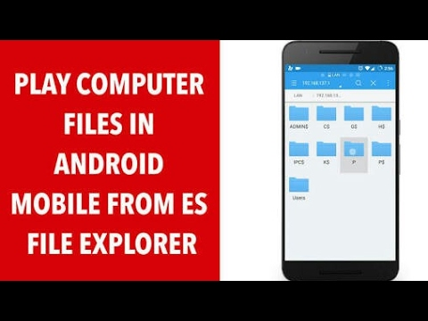 How to access your entire computer files and folders from your smartphone/mobile phone...
