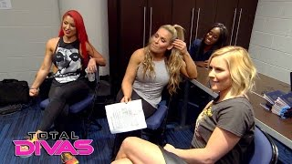 The Total Divas talk about WWE