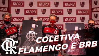 Coletiva - Assinatura da parceria master entre Flamengo e BRB