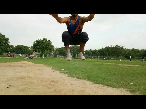 High jump Technic and exercise for physical test