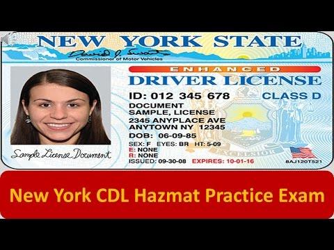 New York CDL Hazmat Practice Exam