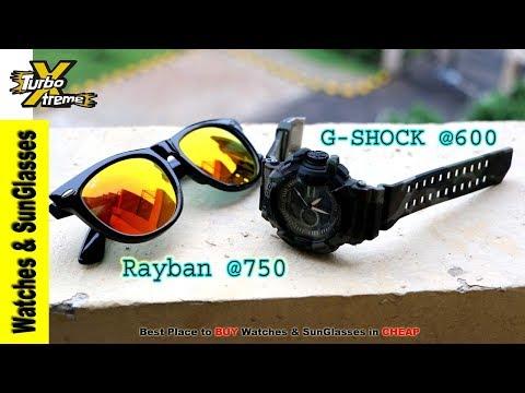 Rayban & G-Shock @Cheap | Watches & SunGlasses @Cheap | Kamla Nagar Market |TURBO XTREME
