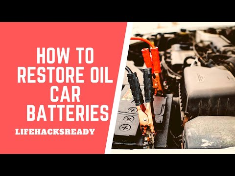 How to Restore Old Car Batteries