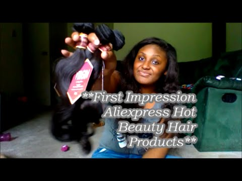 Aliexpress Hot Beauty Hair Product | Brazilian Body Wave | First Impression x Kyra Shanelle