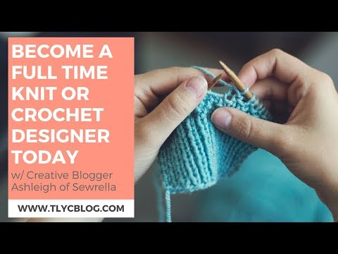 Become a Full Time Crochet Designer [IG LIVE Replay with @Sewrella]