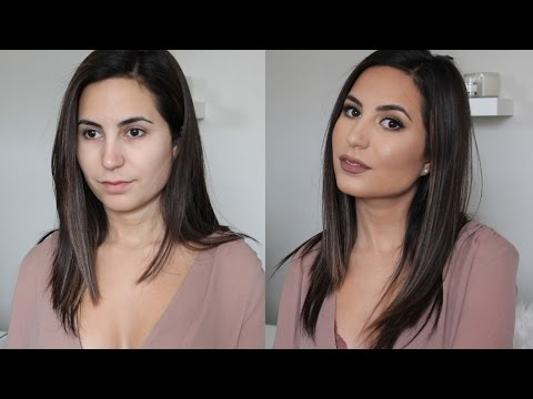 GET READY WITH ME: Trying new drugstore makeup | Elle Levi